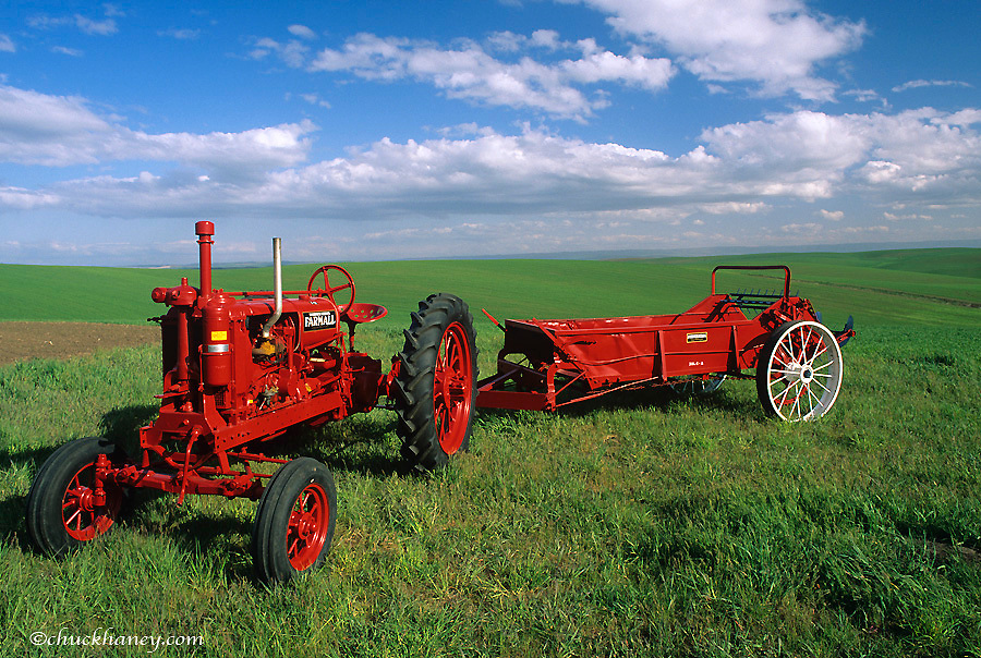 1937 Farmall F-12 restored by bob Callison of Kendrick, Idaho