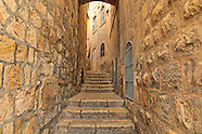Jerusalem Old City Streets and Passageways