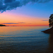 """Chasing Sunset Oil Painting""<br />
