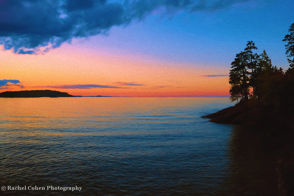 &quot;Chasing Sunset Oil Painting&quot;<br />