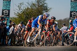 BOONEN Tom in the peloton during the 115th Paris-Roubaix (1.UWT) from Compiègne to Roubaix (257 km) at cobblestones sector 25 from Briastre to Solesmes, France, 9 April 2017. Photo by Pim Nijland / PelotonPhotos.com | All photos usage must carry mandatory copyright credit (Peloton Photos | Pim Nijland)