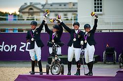 Zeibig, Steffen;<br /> Trabert, Angelika;<br /> Näpel, Britta;<br /> Brenner, Hannelore, <br /> London Paralympics 2012<br /> Fotos Jon Stroud<br /> © www.sportfotos-lafrentz.de/ Stefan Lafrentz