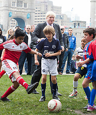 OCT 15 2014 Boris Johnson and Lord Darzi launch London Health Commission