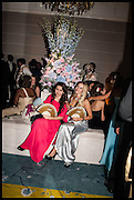 MALIKA YUNUSOVA;JESSICA HEY, Florence Heoluwa 'Cuppy' Otedola Marie Antoinette Graduation party. Mandarin Oriental, Knightsbridge25th of July 2014.