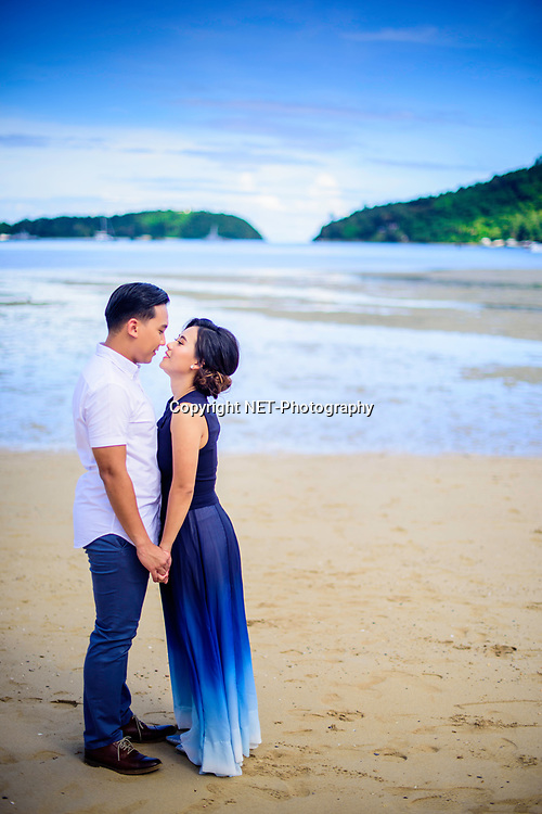 Pre-Wedding (Engagement Session) taken in Phuket, Thailand.