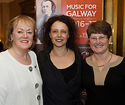 Yvonne Barry, Anna Lardi Fogarty Music for Galway and Veronica O'Hara Inverin in Hotel Meyrick for the launch of Music for Galway's new International Concert Season 'Aimez-vous Brahms?' opening on September 28th and running until May 18th including main concert series, Lunchtime series and Midwinter Festival.  . Photo: xposure.
