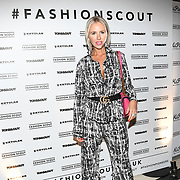 Naomi Isted attend the Fashion Scout - SS19 - London Fashion Week - Day 1, London, UK. 14 September 2018.