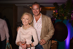 Hugh Bonneville Mary Berry at the 2017 Fortnum & Mason Food & Drink Awards held at Fortnum & Mason, Piccadilly London England. 11 May 2017.<br /> Photo by Dominic O'Neill/SilverHub 0203 174 1069 sales@silverhubmedia.com