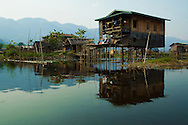"The so-called ""floating village"" on Inle Lake is really called Ywama, a kind of rural Burmese Venice that becomes the scene of a weekly market that used to be primarily a floating market."