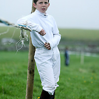 Ian Queally at the annual Lisdoonvarna Races at the weekend.<br />
