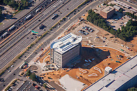 Patriot RIdge Office Park aerial photography in Springfield Virginia