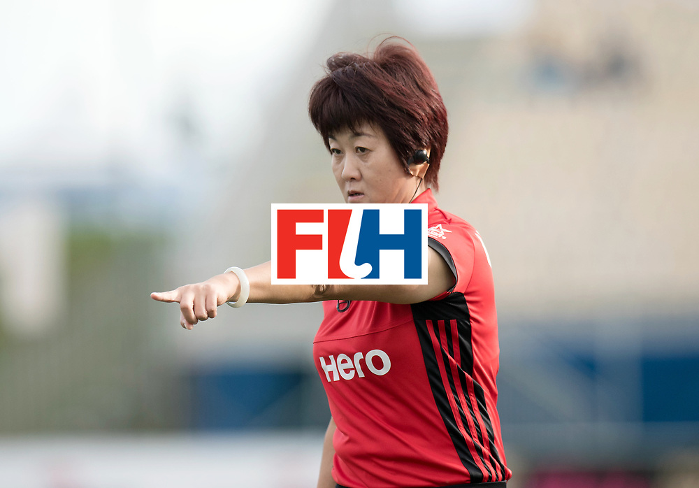 AUCKLAND - Sentinel Hockey World League final women<br /> Match id: 10307<br /> 17 ARG v GER (Losing Q/Finalis<br /> Foto: Umpire MIAO Lin<br /> WORLDSPORTPICS COPYRIGHT FRANK UIJLENBROEK