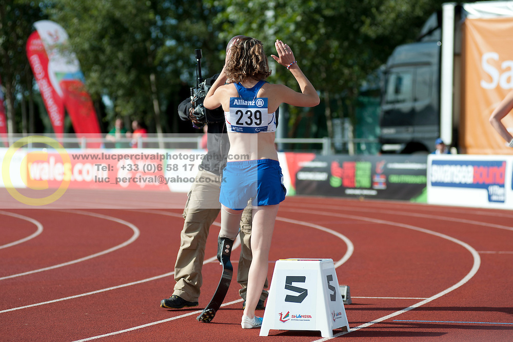 Marie-Amelie Le Fur, 2014 IPC European Athletics Championships, Swansea, Wales, United Kingdom