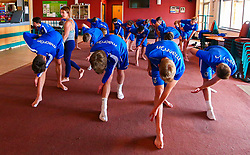 Bristol Rovers youth academy take part in a yoga exercise - Mandatory by-line: Ryan Crockett/JMP - 13/07/2017 - FOOTBALL - Yate Outdoor Sports Complex - Yate, England - Bristol Rovers Youth Team Portraits