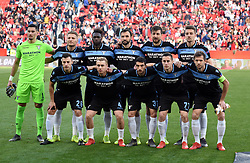 February 20, 2019 - Seville, Spain - Lazio players pose for a team during the Europa League round of 32 second leg soccer match between Sevilla and Lazio at the Sanchez Pizjuan stadium, in Seville, Spain, on February 20, 2019. (Credit Image: © Gtres/NurPhoto via ZUMA Press)