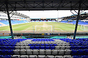 Boundary Park before  the Sky Bet League 1 match between Oldham Athletic and Bury at Boundary Park, Oldham, England on 23 January 2016. Photo by Mark Pollitt.