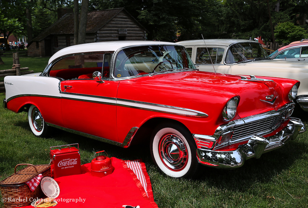 &quot;Chevy Bel Air in Red&quot;<br />