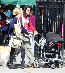 Peaches Geldof, fiance Thomas Cohen and their baby boy Astala out and about in London, UK. 31/08/2012<br />BYLINE MUST READ : JAMESY/GOTCHA IMAGES<br /><br />Copyright by © Gotcha Images Ltd. All rights reserved.<br />Usage of this image is conditional upon the acceptance <br />of Gotcha Images Ltd, terms and conditions available at<br />www.gotchaimages.com