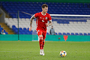 Wales defender Chris Mepham during the Friendly match between Wales and Belarus at the Cardiff City Stadium, Cardiff, Wales on 9 September 2019.