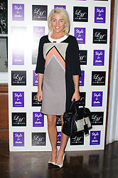 Lydia Rose Bright at Style for Stroke - launch party held at No. 5 Cavendish Square, London, England, October 2, 2012. Photo by Chris Joseph / i-Images.