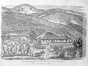 "From ""Souvenirs of Ceylon"" 1868 published by Ferguson. Sinnapittia Coffee Estate. Gampola."