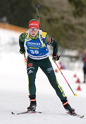 11.01.2018, Chiemgau Arena, Ruhpolding, GER, IBU Weltcup Biathlon, Ruhpolding, Einzel, Damen, im Bild Franziska HILDEBRAND (GER) // during Ladies Individual of BMW IBU Biathlon World Cup at the Chiemgau Arena in Ruhpolding, Germany on 2018/01/11. EXPA Pictures © 2018, PhotoCredit: EXPA/ Ernst Wukits