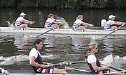 "Henley on Thames. Henley. GREAT BRITAIN;  Lightweight <br /> Coxless Four<br /> Nautilus<br /> <br /> 1995 Women's Henley Regatta. Henley Reach. River Thames.<br /> <br /> [Mandatory Credit; ""Photo, Peter Spurrier/Intersport-images]"