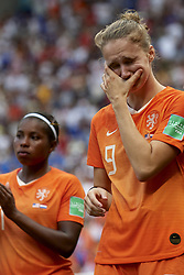 July 7, 2019 - Lyon, France - Vivianne Miedema (Arsenal WFC) of Netherlands  dejected after the 2019 FIFA Women's World Cup France Final match between The United State of America and The Netherlands at Stade de Lyon on July 7, 2019 in Lyon, France. (Credit Image: © Jose Breton/NurPhoto via ZUMA Press)
