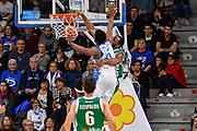 Dezmine Wells, Dyshawn Pierre<br /> Banco di Sardegna Dinamo Sassari - Sidigas Scandone Avellino<br /> Legabasket serie A LBA PosteMobile 2017/2018<br /> Sassari, 02/01/2018<br /> Foto L.Canu / Ciamillo-Castoria