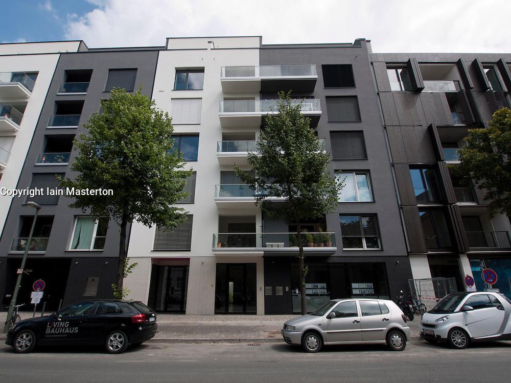 new luxury apartment buildings at marthashof in bohemian prenzlauer berg in berlin germany. Black Bedroom Furniture Sets. Home Design Ideas