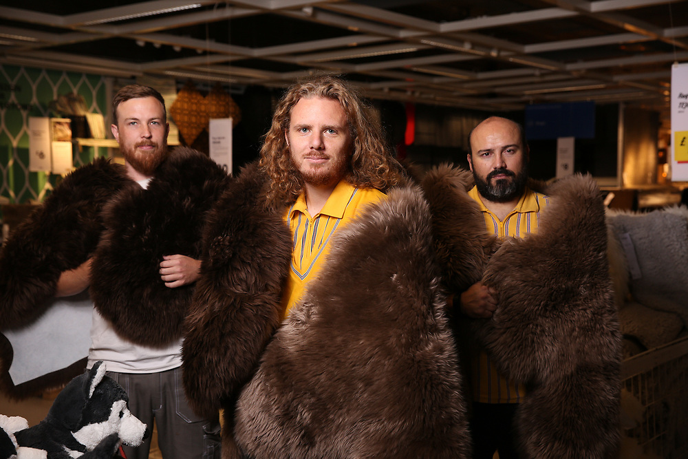 Today it has been revealed that the IKEA LUDDE Sheepskin rug has been used in the popular Game of Thrones series to protect the Night's Watch against the chills of the North.<br />