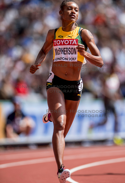 06-08-2017 IAAF World Championships Athletics day 3, London<br /> Stephenie Ann McPherson JAM 400m