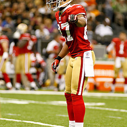 August 12, 2011; New Orleans, LA, USA; San Francisco 49ers safety C.J. Spillman (27) during the first half of a preseason game against the New Orleans Saints at the Louisiana Superdome. Mandatory Credit: Derick E. Hingle