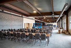 Bauarbeiten Pressestelle<br /> Tryon - FEI World Equestrian Games™ 2018<br /> Hintergrundbilder vom Veranstaltungsgelände<br /> 10.September 2018<br /> © www.sportfotos-lafrentz.de/Stefan Lafrentz