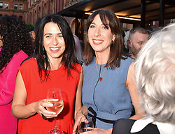 Emily Sheffield and Samantha Cameron at the Victoria & Albert Museum's Summer Party in partnership with Harrods at The V&A Museum, Exhibition Road, London, England. 20 June 2018.