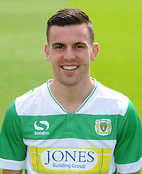 Yeovil Town's Kevin Dawson - Photo mandatory by-line: Harry Trump/JMP - Mobile: 07966 386802 - 06/08/15 - SPORT - FOOTBALL - Yeovil Town Press Day - Huish Park, Yeovil, England.