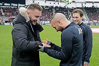 Muamer Tankovic, *Illiass Bel Hassani* of AZ Alkmaar, *Joris van Overeem* of AZ Alkmaar