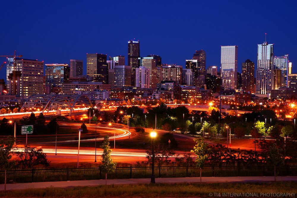 Denver Skyline @ Sunset
