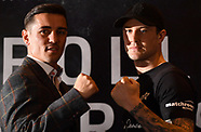 Manchester: Anthony Crolla v Ricky Burns Press Conference - 8 Aug 2017