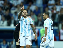 June 21, 2018 - Nizhny Novgorod, Russia - Group D Argentina v Croazia - FIFA World Cup Russia 2018.Nicolas Otamendi (Argentina) at Nizhny Novgorod Stadium, Russia on June 21, 2018. (Credit Image: © Matteo Ciambelli/NurPhoto via ZUMA Press)