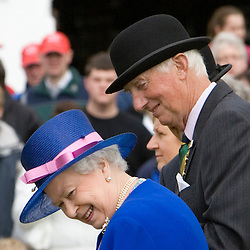 Queen Elizabeth II at the Great Yorkshire Show 2008