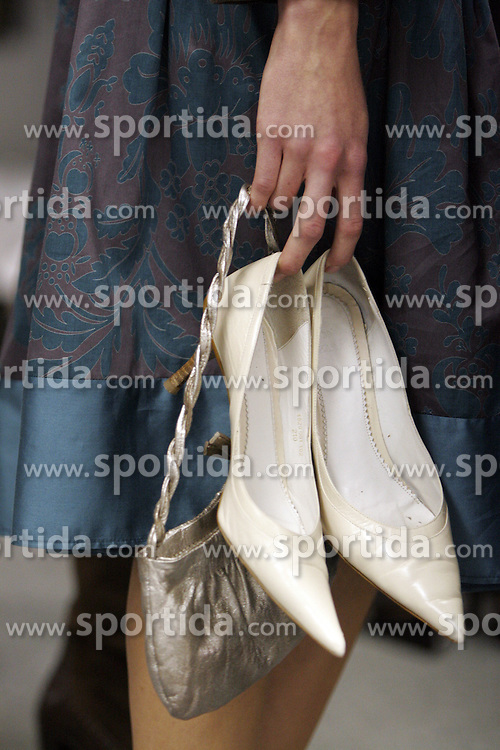 Shoes. (Photo by Vid Ponikvar / Sportal Images)