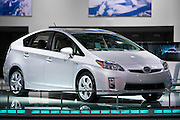 A Toyota Prius at the 2009 NAIAS, North American International Auto Show, held in Detroit Michigan.