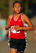 Oct 20, 2006; Walnut, CA, USA; Katrina Lee of Page wins the girls Division IV sweepstakes race in 18:43 over the 2.91-mile course in the 59th Mt. San Antonio College Cross Country Invitational.