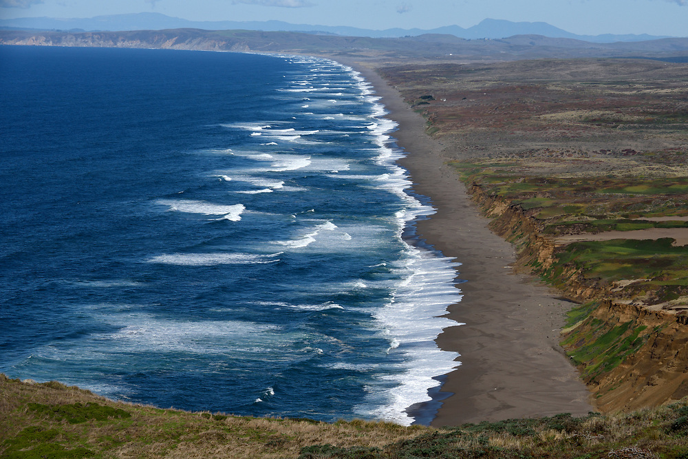 The Point Reyes Seashore on November17'th, 2017. The Point Reyes National Seashore, located in Marin County, California, United States. Photo by Gili Yaari