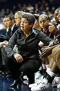 9 January 2009:  Central Michigan Head Coach Sue Guevara  during the NCAA basketball game between Central Michigan and the Toledo Rockets at Savage Arena in Toledo, OH.