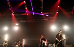 Music band perform at CFC 5 Fighting event, on October 6, 2019 in Arena Stozice, Ljubljana, Slovenia. Photo by Vid Ponikvar / Sportida