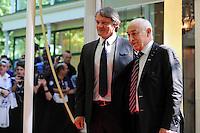 Sylvain KASTENDEUCH / Philippe PIAT  - 17.05.2015 - Ceremonie des Trophees UNFP 2015<br /> Photo : Nolwenn Le Gouic / Icon Sport