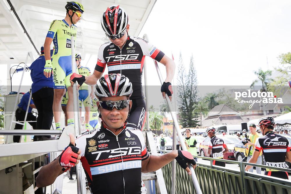 Le Tour de Langkawi 2015/ Stage3/ Kota Bharu to Kuala Berang/ 165.4 km/ TSG/ Zamri Salleh