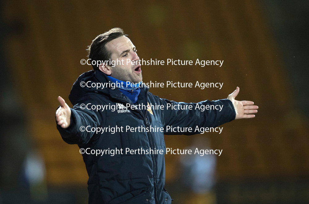 St Johnstone v Motherwell&Ouml;17.12.16     McDiarmid Park    SPFL<br /> James McFadden<br /> Picture by Graeme Hart.<br /> Copyright Perthshire Picture Agency<br /> Tel: 01738 623350  Mobile: 07990 594431